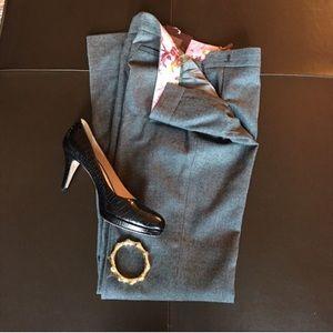 Ted Baker Grey Trouser Career Dress Pants